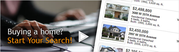 Buying a home? Start your Search!